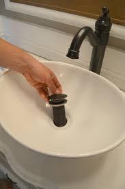 Bathroom Sink Not Draining Well by Old Dresser Turned Bathroom Vanity Tutorial