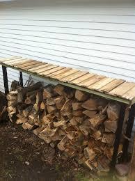 kitchen elegant 9 best firewood rack images on pinterest storage