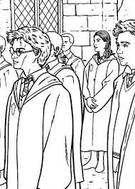 Harry Potter And Order Of Phoenix Coloring Page