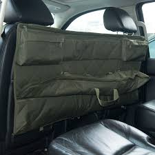 """HomCom 50"""" 3 Rifle Truck Seat Gun Organizer With Pockets - Army ... Llbean Truck Seat Fishing Organizer Hq Issue Tactical 616636 At Sportsmans Guide Kick Mat For Car Auto Back Cover Kid Care Protector Best With Tablet Holder More Storage Home Luxury Automotive Accsories Interiors Masque Headrest Luggage Bag Hook Hanger Kit For New 2 Truck Car Hanger Hook Bag Organizer Seat Headrest Byd071 Mud River Trucksuv Gamebird Hunts Store Backseat Perfect Road Trip Accessory Kids Smiinky Covers Ford Rangertactical Fordtactical Kryptek Custom"""