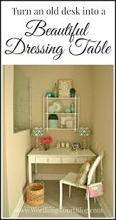 Bath Vanities With Dressing Table by Old Desk Turned Into A Dressing Table Worthing Court