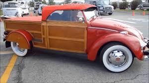 VW Beetle Woody Pickup - YouTube