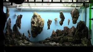Star Wars Fish Tank Decorations by Allestimento Acquario Fantasy Aquarium Setup Aquascape