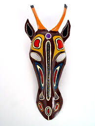 Antelope Mask Painted African