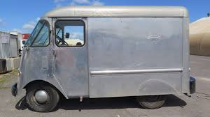 52 Chevy - Vintage Milk Delivery Van, Aluminum Body, 94