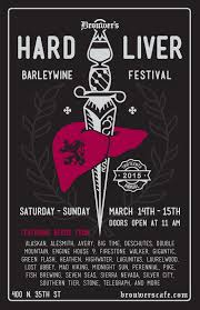 Southern Tier Pumking Fest by Brouwer U0027s Cafe Hard Liver Fest 2015 Beer List New Beer