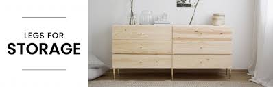 buy furniture legs for ikea stuva storage systems prettypegs