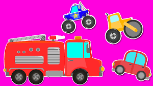 100 Pink Fire Truck Toy Videos For Children Baby Videos Games For Kids YouTube