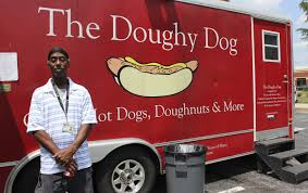 Doughy Dog Food Truck Rolls On Despite Bumps In The Road - Maryland ... Hot Dogs Food Truck This Is A Popular Street Food Flickr Olde Blind Dog Irish Pub Atlanta Trucks Roaming Hunger Deerhead Wilmington De Truck Goes To The Dogs Seattle Barkery Caters Specifically Devil Grill Denver Rock Star Feeds H2trot Gourmet Hotdogs Review Wichita By Eb And Drinks Decadent Bridgeport Ct Serves Canine Clientele Mental Floss Doughy Maryland Gazette Martys No 411working On A Of Florida