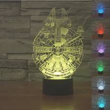 Battery Operated Lava Lamp Nz by Aliexpress Com Buy Amazing Star Wars 3d Led Lamp Millennium