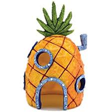 Spongebob Aquarium Decor Set by Amazon Com Spongebob 10 Piece Aquarium Decorative Set Aquarium