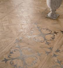 wall and floor wood look tiles by