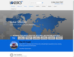 Best Logistics Websites Design Examples | EchoUA