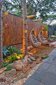 Love The Hanging Chairs Hang From Fashioned Hanger On Fence Best ... Garden Ideas Backyard Landscaping Unique Landscape Download For Small Backyards Inexpensive Cheap Pdf Intended Design Hgtv Pergola Yard With Pretty And Half Round Yards Adorable 25 Inspiration Of Big Designs Diy Fast Simple Easy For 20 Awesome Backyard Design