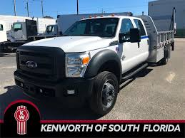 2014 Ford F550XL Crew Cab 12 Ft Aluminum Flatbed Truck | Kenworth Of ...