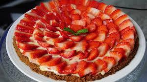 tarte aux fraises pate feuilletee recette de tarte aux fraises et biscuit de spéculoos