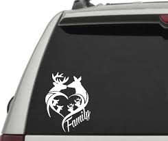 100 Hunting Decals For Trucks Deer Family Decal For Car Truck Window Stick Family White Hunting