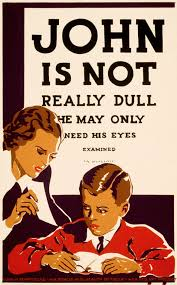 FileJohn Is Not Really Dull WPA Poster Ca 1937