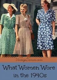 What Did Women Wear In The 1940s
