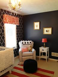 Coral Color Decorating Ideas by Quincy U0027s Navy Coral And White Nursery Coral Nursery Navy Walls
