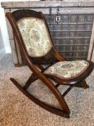 Antique Vintage Victorian Wood Youth Folding Rocker Rocking ... Us 3690 Vintage Fniture Modern Wood Rocking Chair For Aged People Japanese Style Recliner Easy With Armrest Pulletout Ftstoolin Garden Antique Vintage Wood Folding Rocking Chair Rocker Floral Antique Folding Antique Appraisal Instappraisal Pair Of Rope Seat Chairs Splendid Comfortable Nursing Wooden Leather Armchair Vintage Wooden Folding Chair Victorian Upholstered Redwood Lawn Scdinavian Tapiovaara