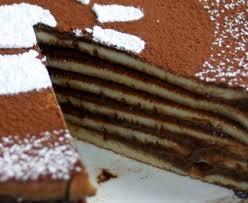 gâteau de crêpes au chocolat recette de gâteau de crêpes au