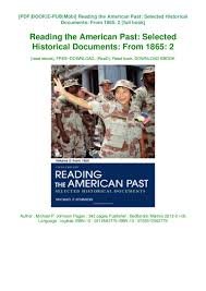 100 Michael P Johnson Download DF Reading The American Ast Selected
