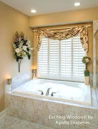 bathroom window treatments walmart curtains idea over tub