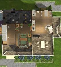 Sims 3 Floor Plans Small House by Stunning Modern House Floor Plans Sims 3 Pictures Flooring