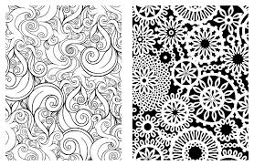 Amazon Posh Adult Coloring Book Pretty Designs For Fun New Relaxation Pages