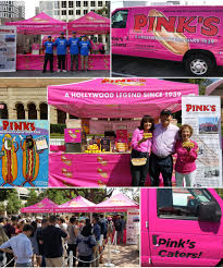 100 Hollywood Food Trucks Contact Pinks Hot Dogs