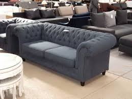 canap chesterfield but chesterfield tissu gris 2 places bis jpg