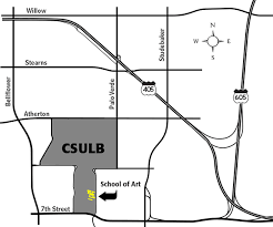 CSULB School of Art Home directions CSULB area