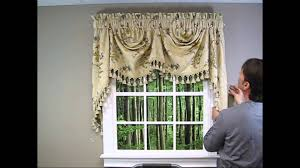 Cafe Style Curtains Walmart by Interior Design Decorate Your Window By Using Swags Galore