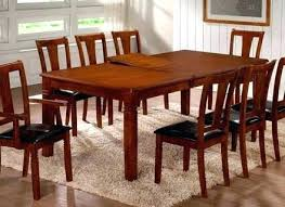 Dining Table With 8 Chairs High Top Room And Elegant Chair Set