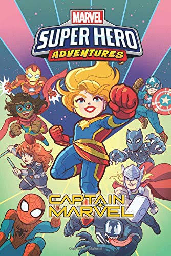 Marvel Super Hero Adventures: Captain Marvel - Sholly Fisch