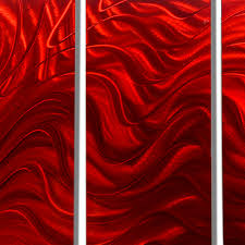 Bed Bath And Beyond Metal Wall Decor by Red Hypnotic Sands Red Abstract Metal Wall Art By Jon Allen 64