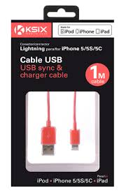 KSIX MADE FOR IPHONE LIGHTNING SYNC & CHARGE CABLE FOR IPHONE 7