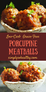 Porcupine Eating Pumpkin And Talking by Low Carb Porcupine Meatballs Recipe Banting Diet Porcupine