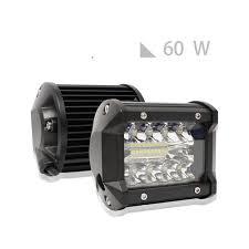 100 Lights For Trucks US 783 14 OFF4 Inch LED Work Light 60W Bar Bulb 12V 24V Spot Flood Led Fog Light Bar For Lada 4x4 Offroad Town Car ATV Boat SUVin
