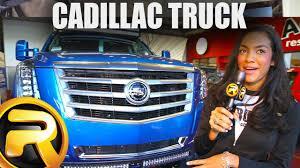 100 Cadillac Truck 2014 Cool SEMA YouTube