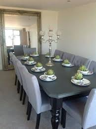 14 Seater Dining Table Seat Exquisite Endearing 8 And Oak Seats