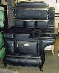 A Combination Cookstove Use Gas In Hot Weather And Coal Or Wood Cold