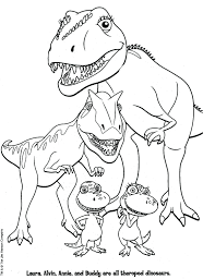 Dinosaur Coloring Book Pages Free Pdf Printable Print Realistic Full Size