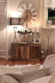 Rustic Living Room Ideas Prepossessing Decor Babfd Huge Clock Big Clocks