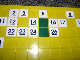 number sense through the hundred board fuel the brain