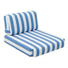 703565 bilander arm chair cushion blue white