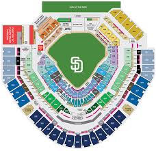 Petco Park Seating Map