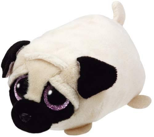 Ty Teeny Tys Candy the Pug Beanie Plush Toy - 10cm