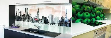 credence verre cuisine crédence en verre sur mesure pour cuisine righetti